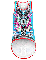Women's Going out Boho Summer Racerback Fashion All Match Tank Top,Print Round Neck Sleeveless