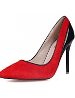 Women's Shoes Fleece Summer Heels Heels Casual Stiletto Heel Others Black / Red