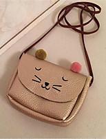 Women-Formal-PU-Shoulder Bag-Pink / Gold / Brown