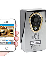 KiVOS WiFi Wireless Video Doorbell Doorbell Intercom Intelligent Household Mobile Phone Camera Lock KDB400