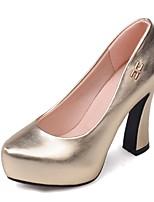 Women's Shoes Chunky Heel Heels / Platform / Basic Pump / Round Toe Heels Office & Career / Party & Evening / Dress