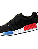 Men's Shoes Outdoor / Casual PU Fashion Sneakers Black / Blue / Gray / Fuchsia
