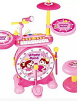 Rock Piano Jazz Drum Drum Drum Combination Of Children'S Educational Early Childhood Percussion Toys