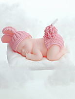 Fashion Creative Baby Style Candles Holiday Romantic Home Decoration Party Birthday(1pc)