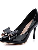 Homme / Femme / Fille-Bureau & Travail / Habillé / Décontracté-Noir / Rouge / Blanc / Beige-Talon Aiguille-Talons-Chaussures à Talons-