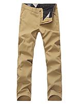 Lesmart Men's Straight Pants Black / Gray / Khaki-LW15105