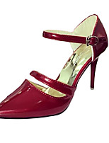 Women's Shoes PU Summer Heels Heels Casual Stiletto Heel Others Pink / Red / Silver