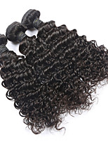 Cheap Brazilian Hair 3 Bundles Brazilian Deep Curly Virgin Hair 7a Unprocessed Wet and Wavy Virgin Brazilian Hair