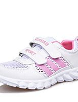 Girl's Sneakers Spring / Fall Round Toe Tulle Outdoor / Casual / Athletic Flat Heel Others Pink / Silver