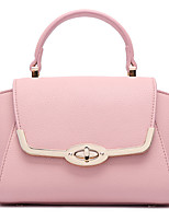 Women-Sports / Casual / Outdoor / Office & Career / Shopping-PU-Shoulder Bag-Pink / Red / Black