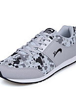 Round British Leisure Sneakers Running Rubber for Men