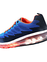 Men's Shoes Outdoor / Athletic / Casual PU Fashion Sneakers Gray / Royal Blue / Fuchsia
