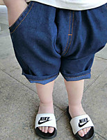 Boy's Casual/Daily Polka Dot Shorts,Cotton Summer Blue