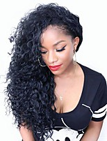 Longer Length Beautiful Small Curly Brazilian Virgin Hair Glueless Lace Front Wig /Full Lace Wig