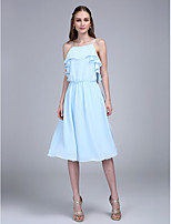 TS Couture® Cocktail Party Dress A-line Spaghetti Straps Knee-length Chiffon