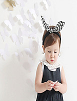 Girls Hair Accessories,All Seasons Acrylic Black / White