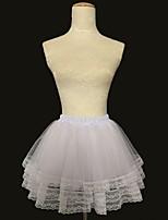 Slips(Acryl,Weiß / Schwarz) -34cm-3-Abendkleid