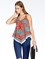 Heart Soul® Women's Strap Sleeveless T Shirt Blue-11AA24187