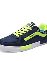 Men's Shoes PU Athletic Sneakers Athletic Indoor Court Flat Heel Others / Lace-up Black / Blue / Red / White
