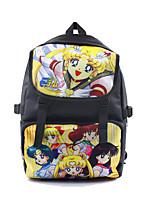 Más Accesorios Sailor Moon Cosplay Animé Accesorios Cosplay Negro Nailon