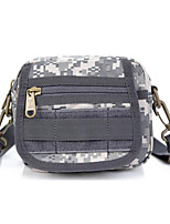 8 L Shoulder Bag Camping & Hiking Outdoor Multifunctional Gray Nylon