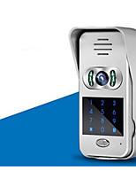 WiFi, Video Intercom Doorbell Villa Scheme Mobile Phone APP Remote Unlocking Monitoring Video Camera Home