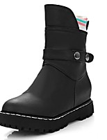 Women's Shoes Platform Fashion Boots / Motorcycle Boots / Combat Boots / Round Toe Boots Outdoor / Office & Career /