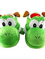 Chaussons Caractéristiques Toison de Coral Chaussures Kigurumi Pyjamas Pyjamas animale Vert clair Couleur PleineHalloween / Noël / Le