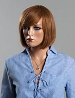 peluca de cabello humano juvenil peinado de la sacudida sin tapa