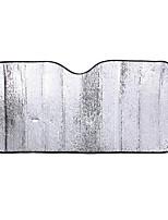 papel de aluminio reflectante parabrisas delantero sol de aislamiento anti-UV sombrilla del coche 60 * 130cm