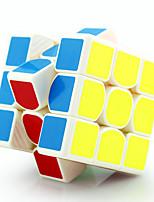 Cubes Magiques / Puzzle Toy IQ Cube Yongjun Trois couches Vitesse / Niveau professionnel Cube de vitesse lisse Magic Cube Puzzle Blanc