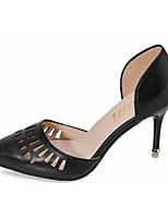 Women's Shoes PU Summer Heels Heels Casual Stiletto Heel Others Black / Pink