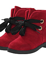 Boots Spring / Fall Combat Boots Synthetic Casual Chunky Heel Others Brown / Red