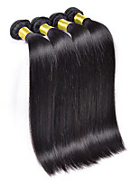 3Bundles/Lot Brazilian Virgin Hair Straight 6A Unprocessed Brazilian Silk Straight Hair Weave Bundles