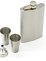 Stainless Steel Flagon Wineglass Set