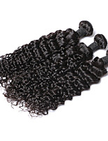 Cheap Unprocessed Indian Human Hair Deep Wave Beautiful Hair Weft 3pcs/Lot Indian Remy Virgin Hair Extension