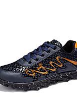 Men's Sneakers Shoes Casual/Travel/Outdoor Fashion Blade Bottom Microber Woven Shoes EU39-EU44