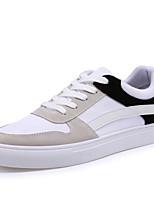 Men's Shoes PU / Fleece / Tulle Casual Walking Flat Heel Lace-up More Color EU39-43