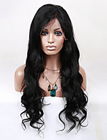 EVAWIGS Brazilian Virgin Hair Wig Lace Front Wig High Density  Natural Romantic Body Wave  Lace Wig for Black Women