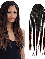 #30 Senegal / Gehäkelt Twist Braids Haarverlängerungen 24 Kanekalon 3 Strand 100g Gramm Haar Borten