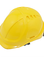 30 kV con aislamiento casco casco de seguridad industrial de la construcción (amarillo)