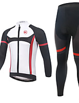 KEIYUEM ®Unisex Cycling Clothing  Long Sleeve Bike Spring / SummerWaterproof / Breathable / Quick Dry Waterproof