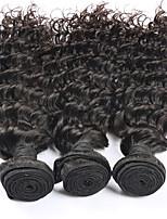3 pezzi Molto ondulata Tessiture capelli umani Brasiliano Tessiture capelli umani Molto ondulata