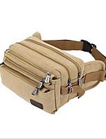 Men-Formal-PU-Waist Bag-Khaki