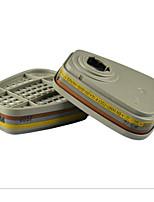 3M 6057 Organic-Inorganic Gas Cartridges Hydrogen Sulfide Acid Gas Mask Filter Cartridge Filter Cartridge