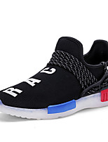 LED's Shoes Boys' Shoes Casual Tulle Flats Spring / Fall Comfort Others Black / White