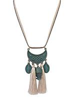 Bronze Tassel Owl Necklace Accessories