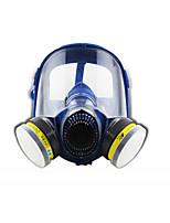 st-m80-3 cabeza con olor a gas de cobertura integral de silicona tipo de pesticida pintura ácidos y álcalis