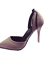 Women's Heels Summer Heels PU Casual Stiletto Heel Others Black / Blue / Pink Others