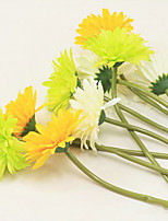 High Quality 1Pc Chrysanthemum Flower Wedding Flower Artificial Flower Silk Flower Home Decoration